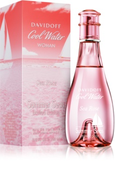 Davidoff Cool Water Woman Sea Rose Summer Seas Limited Edition toaletní voda pro ženy 100 ml