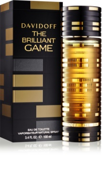Davidoff The Brilliant Game Eau de Toilette für Herren 100 ml