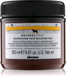 Davines Naturaltech Nourishing maska za suhe in poškodovane lase