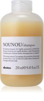 Davines NouNou подхранващ шампоан за суха и крехка