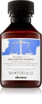 Davines Naturaltech Rebalancing hĺbkovo čistiaci šampón pre mastnú pokožku hlavy