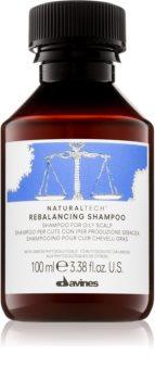 Davines Naturaltech Rebalancing hloubkově čisticí šampon pro mastnou pokožku hlavy