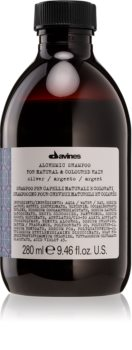 Davines Alchemic Silver Nourishing Shampoo for Hair Color Enhancement