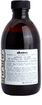 Davines Alchemic Chocolate Shampoo  voor Accentueren van Haarkleur