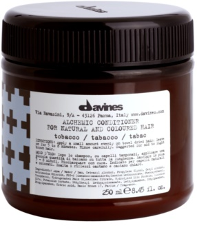 Davines Alchemic Tobacco Moisturizing Conditioner for Hair Color Enhancement