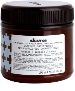 Davines Alchemic Tobacco vlažilni balzam za intenzivnost barve las