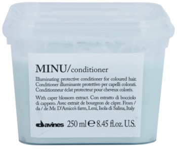 Davines Minu Caper Blossom Protective Conditioner For Colored Hair