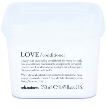 Davines Love Almond Conditioner  voor Krullend Haar