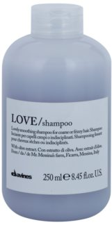 Davines Love Olive uhlazující šampon pro nepoddajné a krepatějící se vlasy