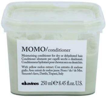 Davines Momo Yellow Melon Hydraterende Conditioner  voor Droog Haar