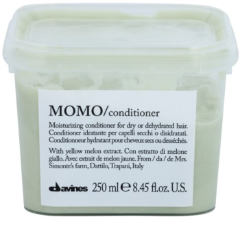 Davines Momo Yellow Melon Moisturizing Conditioner For Dry Hair