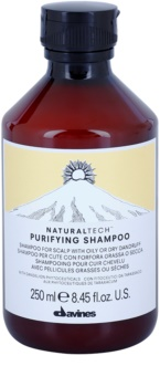Davines Naturaltech Purifying Reinigende Shampoo  tegen Roos