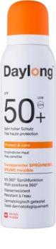 Daylong Protect & Care transparentes Bräunungsspray SPF50+