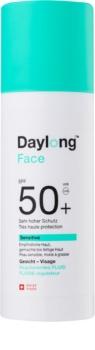 Daylong Sensitive Bräunungsfluid für das Gesicht SPF 50+