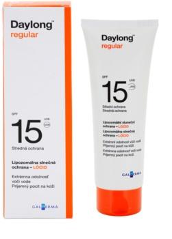 Daylong Regular lipozomální ochranné mléko SPF 15