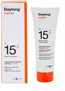 Daylong Regular loção protetora lipossomal SPF 15