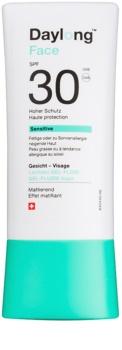 Daylong Sensitive προστατευτικό τζελ-υγρό προσώπου SPF30