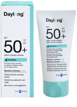 Daylong Sensitive προστατευτικό τζελ για λιπαρή ευαίσθητη επιδερμίδα SPF 50+