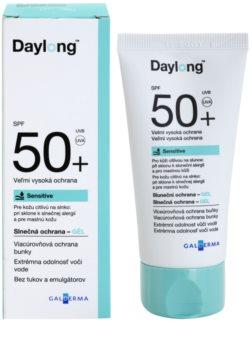Daylong Sensitive gel protetor para pele oleosa e sensível. SPF 50+