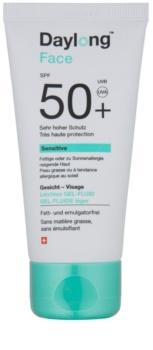 Daylong Sensitive προστατευτικό υγρό τζελ για λιπαρή επιδερμίδα SPF 50+