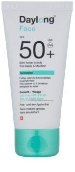 Daylong Sensitive Sunscreen Gel-Fluid for Oily and Sensitive Skin SPF 50+