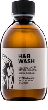 Dear Beard Shampoo H & B Wash šampon a sprchový gel 2 v 1