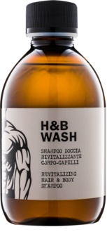 Dear Beard Shampoo H & B Wash šampón a sprchový gél 2 v 1