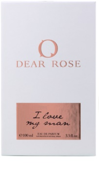 Dear Rose I Love My Man Parfumovaná voda pre ženy 100 ml