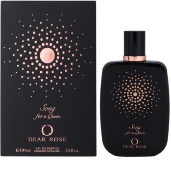 Dear Rose Song for a Queen woda perfumowana dla kobiet 100 ml