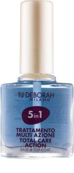 Deborah Milano Nail Care основа та закріплювач для лаку для нігтів 5 в 1