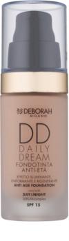 Deborah Milano DD Daily Dream tekoči puder proti staranju kože SPF 15