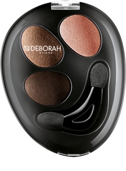 Deborah Milano HI-TECH Ombretto Trio Eyeshadow Trio for Eet and Dry Use