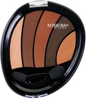 Deborah Milano Perfect Smokey Eye oční stíny s aplikátorem
