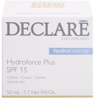 Declaré Hydro Balance hydratační pleťový krém SPF 15