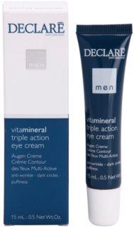 Declaré Men Vita Mineral očný krém proti vráskam, opuchom a tmavým kruhom