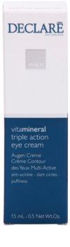 Declaré Men Vita Mineral creme de olhos antirrugas, anti-olheiras, anti-inchaços