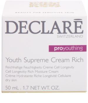 Declaré Pro Youthing tápláló hidratáló krém a bőr fiatalításáéer