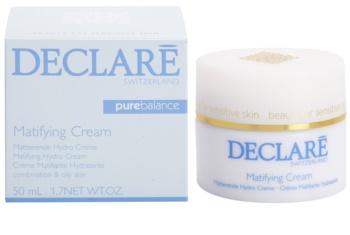 Declaré Pure Balance hydratačný zmatňujúci krém pre mastnú a zmiešanú pleť