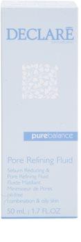 Declaré Pure Balance fluido facial para reducir la producción de sebo y cerrar los poros abiertos