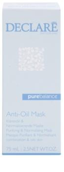 Declaré Pure Balance Reinigingsmasker  voor vermindering van vette Huid