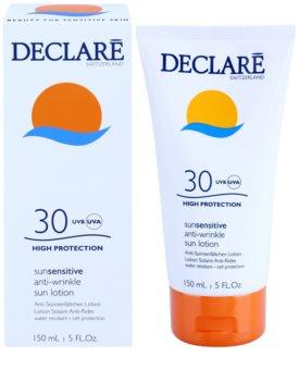 Declaré Sun Sensitive loțiune pentru plaja  SPF 30