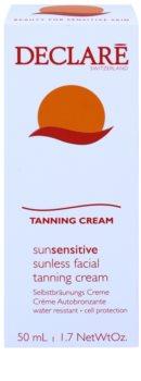 Declaré Sun Sensitive creme autobronzeador para rosto