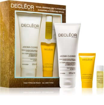 Decléor Hydra Floral Cleansing & Hydrating Ritual Cosmetic Set for Intensive Hydration