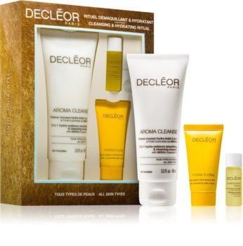 Decléor Hydra Floral Cleansing & Hydrating Ritual kit di cosmetici per un'idratazione intensa della pelle