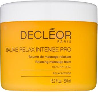 Decléor Relax Intense entspannendes Massagebalsam mit ätherischen Öl