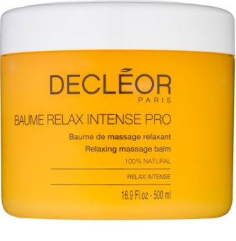 Decléor Relax Intense relaksacijski masažni balzam  z eteričnimi olji