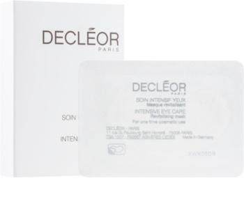 Decléor Intensive Eye care Revitalisierende Maske für die Augenpartien