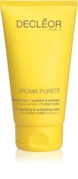 Decléor Aroma Pureté maschera detergente ossigenante 2 in 1