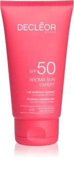 Decléor Aroma Sun Expert Zonnebrandcrème voor Gezicht met Anti-Rimpel Werking  SPF50