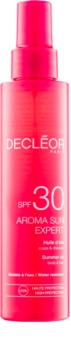 Decléor Aroma Sun Expert huile solaire corps et cheveux SPF 30